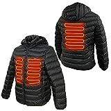 [DRESS]『2021』電熱ヒーター内蔵ジャケット ヒートジャケット 【S】 釣り 夜釣り 防寒 暖かい 大きいサイズ 保温 ホット