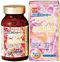 健康フーズのコラーゲン+ヒアルロン酸300粒×6個 JAN:4973044093047