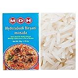 本格 インド ビリヤニ 作り セット MDH ハイデラバディ ビリヤニマサラ 50g バスマティライス パキスタン産1kg Biryani