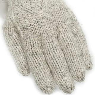Aran Gloves AG07B: Light Grey
