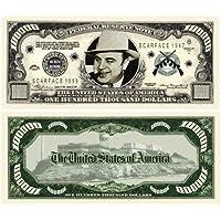 Set of 10 - Al Capone $100000.00 Bills [並行輸入品]