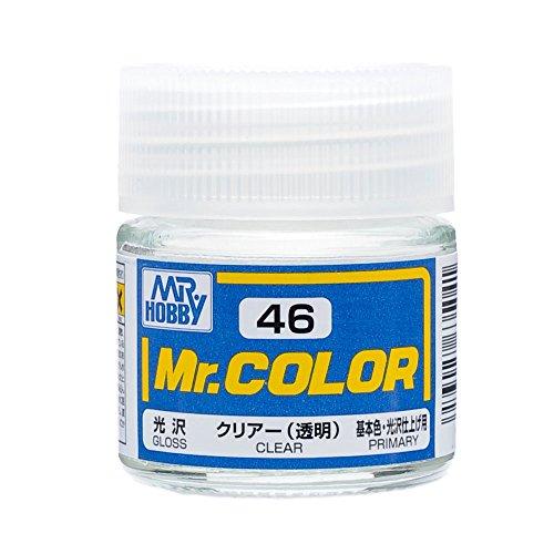 GSIクレオス Mr.カラー C46 クリアー 透明  光沢