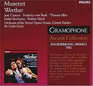 Werther: Grammohpne Award - Engineering 1981