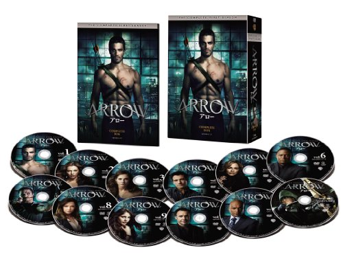ARROW / アロー <ファースト・シーズン> コンプリート・ボックス [DVD]の詳細を見る