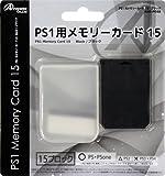 PS1用メモリーカード15 ブラック