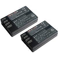 【増量】【2個セット】【ロワジャパン社名明記のPSEマーク付】 PENTAX ペンタックス K-r K-50 K-70 の D-LI109 互換 バッテリー