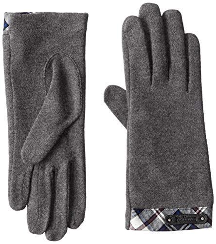 [ニューヨーカー アクセサリー] レディースジャージ手袋 品番NY71330-1 タッチパネル対応 NY グレー 日本 FREE (FREE サイズ)
