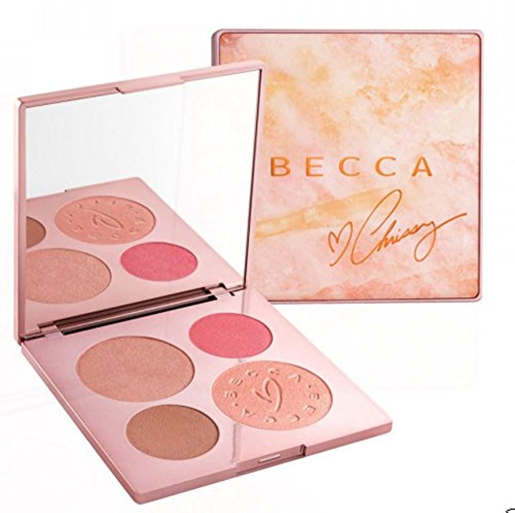 四分円言語刺繍Becca X Chrissy Teigen Glow Face Palette
