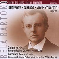 New Series: Rhapsody Scherzo Violin Concerto Op.Po by B. Bartok (2013-05-03)