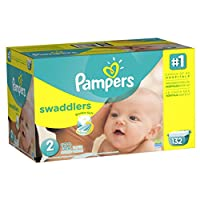 Pampers Swaddlers Diapers Size 2 Giant Pack 132 Count by Pampers