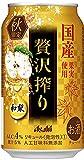 アサヒ 贅沢搾り 秋 国産和梨 350ml×24本