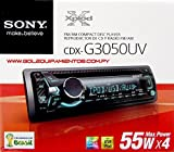 In Car CD Player CDX-G3050UV Front AUX IN/USB/iPod/IPhone Connectivity CDXG3050 by Sony