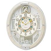 セイコー クロック 掛け時計 電波 アナログ からくり トリプルセレクション メロディ 回転飾り ア...