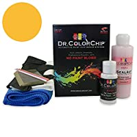 Dr。ColorChipシボレーTrucks Automobileペイント Squirt-n-Squeegee Kit イエロー DRCC-168-16103-0001-SNS