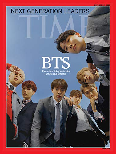 Time Asia [US] October 22 2018 BTS 防弾少年団表紙 (単号)