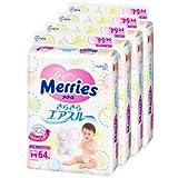 メリーズ さらさらエアスルー テープ Mサイズ 64枚 ケース販売4個入