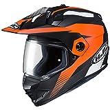 HJC(エイチジェイシー) バイクヘルメット フルフェイス オレンジ (サイズ:L) DS-X1 AWING(エーウィング) HJH134