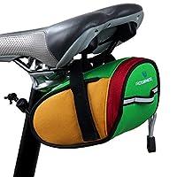 サドルバッグ自転車シートパックサイクリングシートバッグ自転車strap-onサドルバッグ–a1