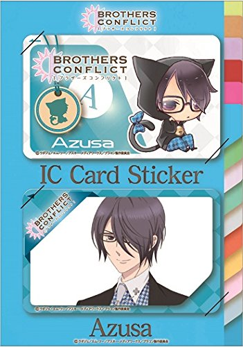 BROTHERS CONFLICT ICステッカー けもみみ梓