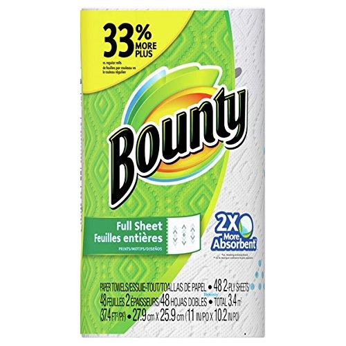 Bounty (バウンティ) ペーパータオル バウンティ プリント 48カット