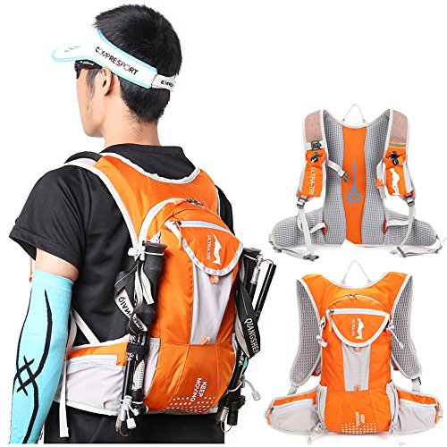 [해외]장거리 내구 크로스 컨트리 배낭 대용량 야외 등산 하이드 팩 12L/Long distance durable cross country backpack large capacity outdoor mountaineering hydration pack 12L