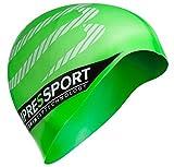 COMPRESSPORT (コンプレスポーツ) スイス発 ヨーロッパで絶大な人気ブランド シリコン スイムキャップ トライアスロン オープンウォーター (グリーン) [並行輸入品]