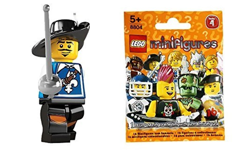 レゴ(LEGO) ミニフィギュア シリーズ4 銃士 (Minifigure Series4) 8804-3