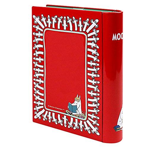 クリスマス ムーミン Moomin ニョロニョロ ブックティン ブック型缶入りお菓子
