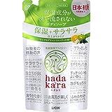 hadakara(ハダカラ) ボディソープ 保湿+サラサラ仕上がりタイプ グリーンフルーティの香り 詰め替え 340ml