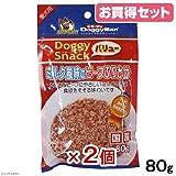 Amazon.co.jpお買得セット ドギーマン ドギースナックバリュー ミルク風味のビーフふりかけ 80g 犬 おやつ お買い得2個入