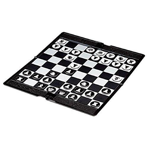 (イスイ)YISHUI 折り畳み式 ミニ 磁気 チェス 携帯 財布 ポケット チェス ボード ゲーム セット W3173