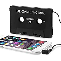 Insten Adapter Compatible with Samsung Galaxy S9/S9+/S8/S8+/Huawei Google Nexus 6P/LG Google Nexus 5X/iPhone 4 4th Version iPhone 4S - AT&T Sprint Version 16GB 32GB 64GB Cassette Car Tape Deck [並行輸入品]