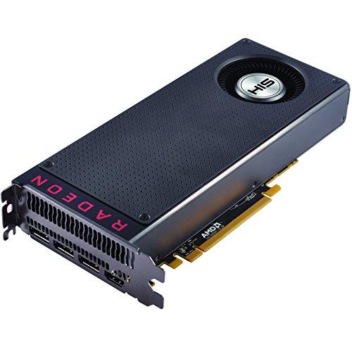 HIS HS-480R8FSNR リファレンスデザイン採用 AMD Radeon RX 480搭載ビデオカード