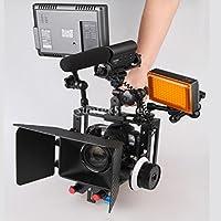 KESOTO カメラ ビデオケージ 映画制作 キット スタビライザー ハンドルグリップ アルミニウム合金