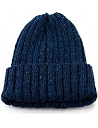 (ハイランド2000) HIGHLAND2000 ニット帽 ニットワッチ 斑点 ネップツイード 秋冬