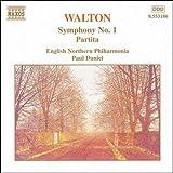 ウォルトン:交響曲第1番/パルティータ(イングリッシュ・ノーザン・フィルハーモニア/ダニエル)