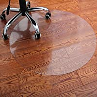 堅木張りの床のためのポリ塩化ビニールの椅子のマット明確で透明な防水水円形のマットオフィスおよび家のための多目的床の保護装置スリップ防止床の保護マット