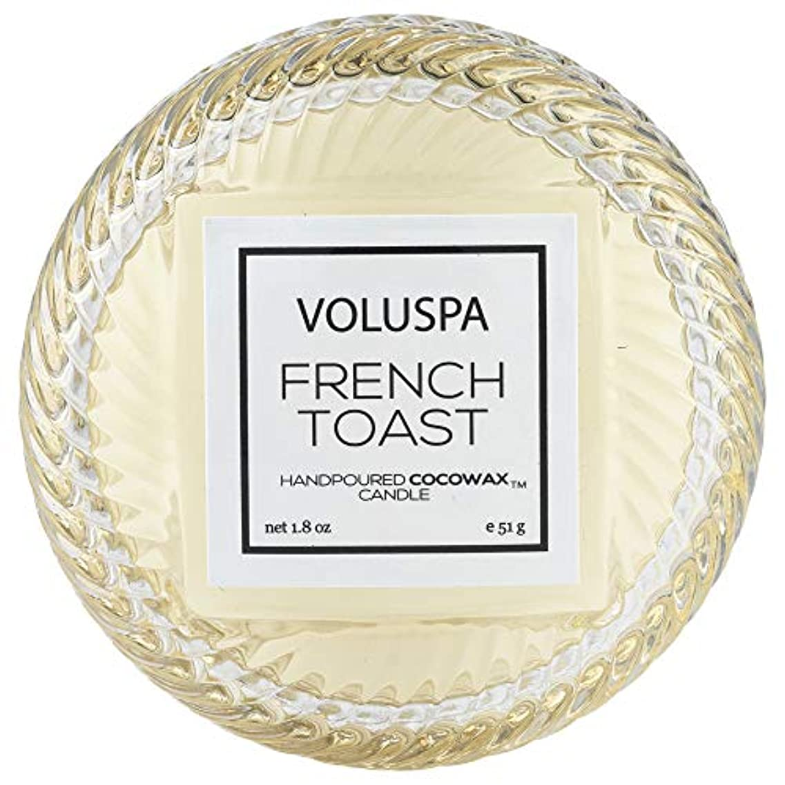アロング引き潮支配するVOLUSPA マカロン マカロンキャンドル フレンチトースト 51g ボルスパ