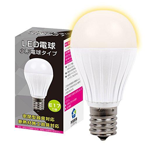(3個セット)LED電球 E17 60W形相当 ミニクリプト...