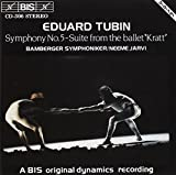 Symphony No. 5 In B Minor; Sui by EDUARD TUBIN (1994-03-25)
