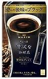 AGF マキシムちょっと贅沢な珈琲店スティック プレミアムブラック 喫茶店ブレンド 10本(2g×10本)×6箱