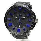 テンデンス 時計 TT560004 ブラック ブルー ガリバー スポーツ クロノ Gulliver Sport Chrono TENDENCE 腕時計 メンズ レディース [並行輸入品]