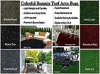 カラフルな室内/屋外用バーゲンサーフエリアラグ。 ガゼボ、デッキ、パティオ、バルコニーなどに最適です。 多くのサイズと色から選択可能。 12'x14'