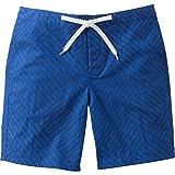 メンズ 水着 HELLY HANSEN (ヘリーハンセン) 水着 STRIPE PRINT BEACH SHORTS (ストライププリントビーチショーツ) フロートブルー (FB) Mサイズ HE71609
