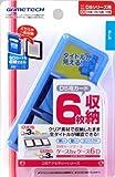 DS用DSカード&SDカード収納ケース『ケースbyケース6D(クリア)』