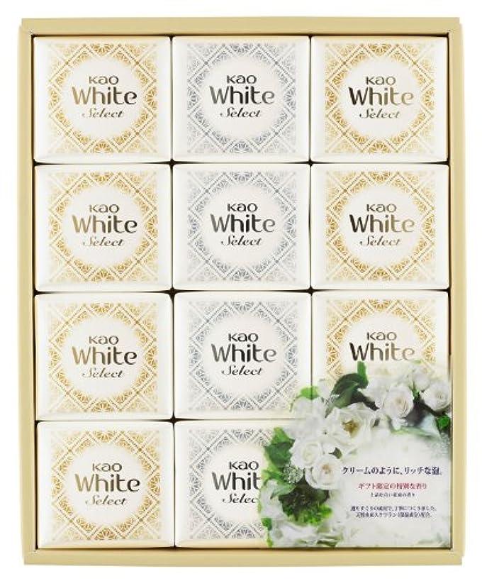 自由周辺前者花王ホワイト セレクト 上品な白い花束の香り 85g 12コ K?WS-20
