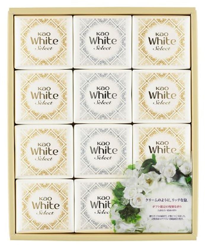 連結するコジオスコエキスパート花王ホワイト セレクト 上品な白い花束の香り 85g 12コ K?WS-20