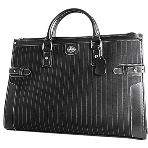 粋なストライプ柄ターンロック式ビジネスバッグ [ ユナイテッドオム 1651 ] 誕生日プレゼント
