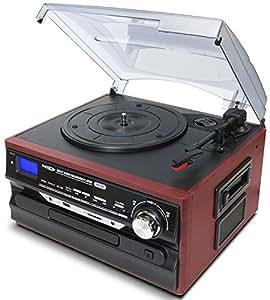 クマザキエイム Bearmax マルチレコードプレーヤー/レコーダー 【SDカード・USBメモリにダイレクト録音可能】 MA-88