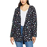 French Connection Women's Mushroom Printed Mac, Black Multi